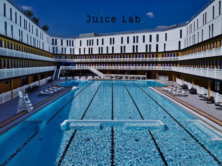 Juice Lab Piscine Molitor
